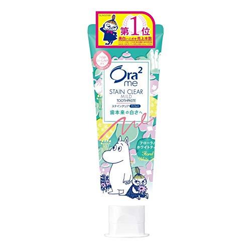 RoomClip商品情報 - Ora2(オーラツー) ミー ステインクリア 歯みがき ムーミン企画 [フローラルホワイトティー] 130g