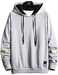 oolivupf パーカー メンズ フード付き 秋服 プルオーバー スウェットシャツ ゆったり スポーツ おおきいサイズ カップル着用 冬服