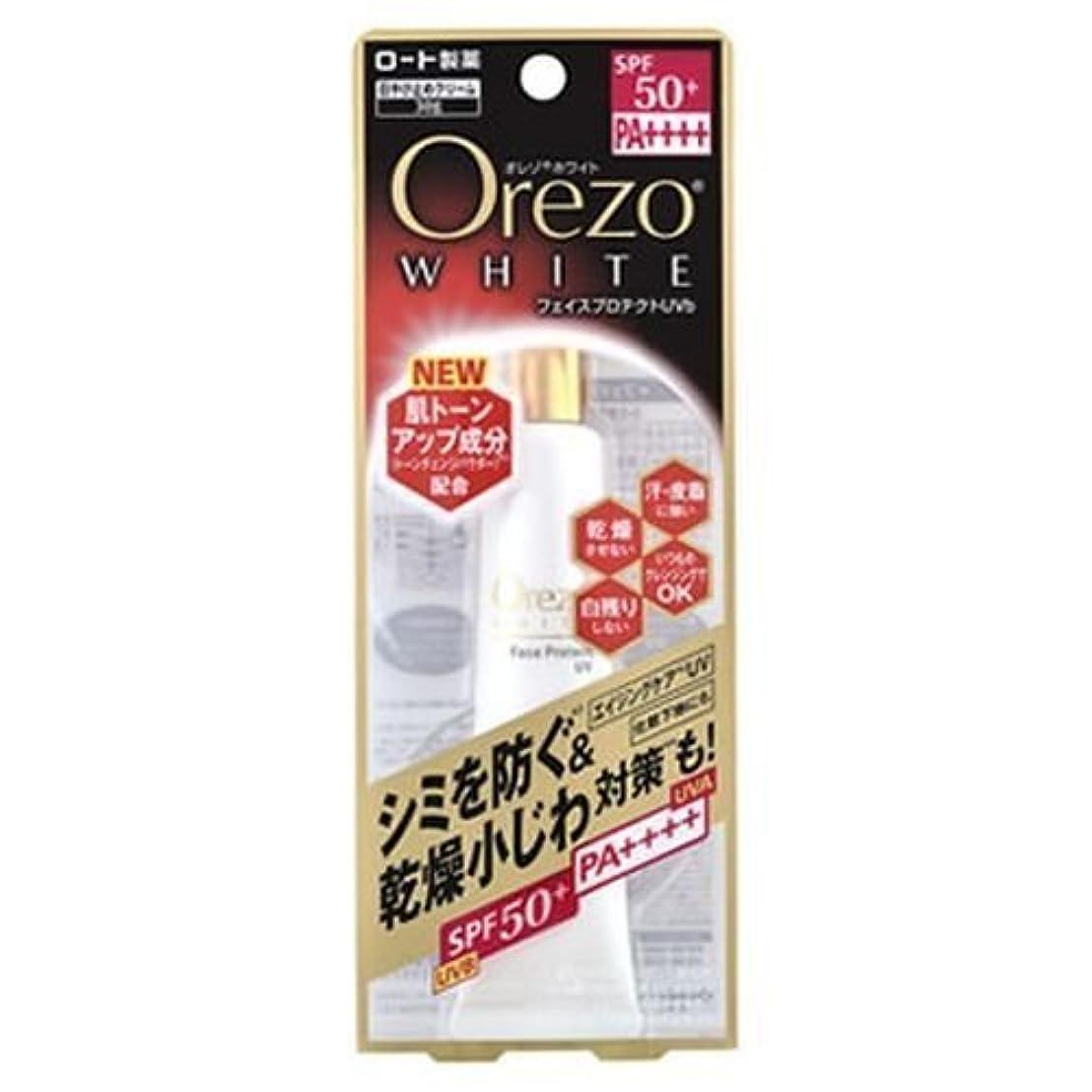 スコア判決ジュースロート製薬 オレゾホワイトフェイスプロテクトUV 30g