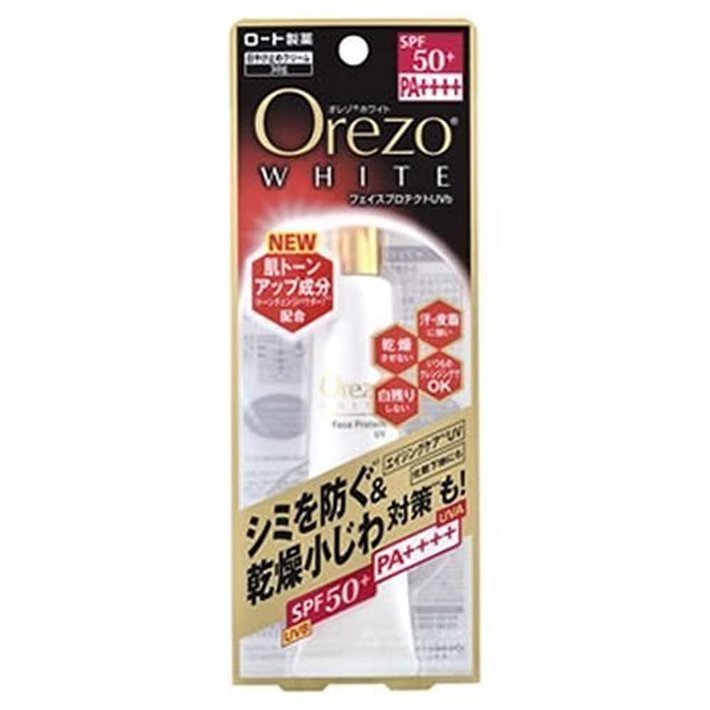 おもちゃ関税眩惑するロート製薬 オレゾホワイトフェイスプロテクトUV 30g
