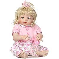 SanyDoll Rebornベビー人形ソフトSilicone 22インチ55 cm磁気Lovely Lifelike Cute Lovely Baby b0763lr3yb