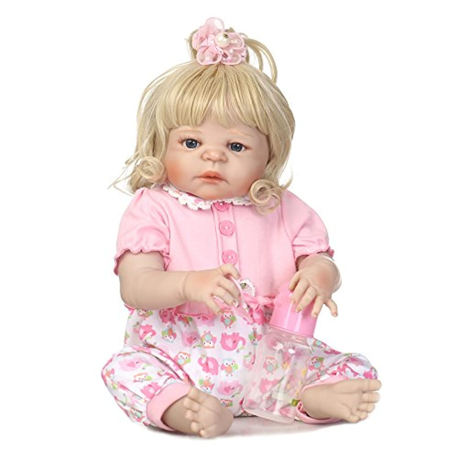 SanyDoll Rebornベビー人形ソフトSilicone 22インチ55 cm磁気Lovely Lifelike Cute Lovely Baby b0763lr3yb