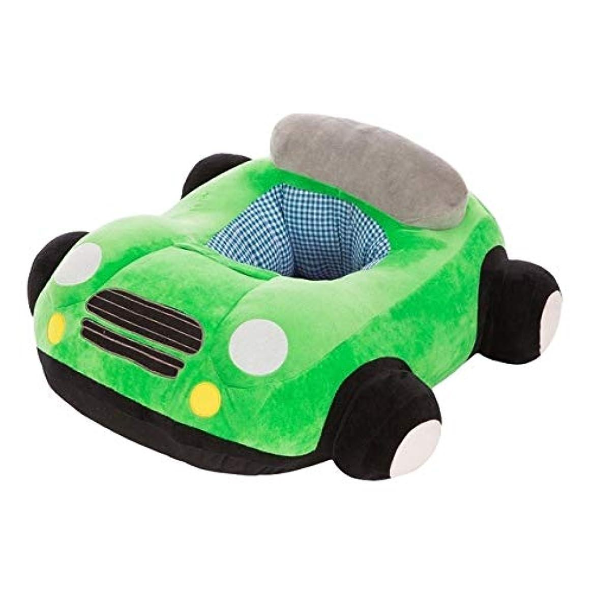 兵士ミトンブレーキベビー用品 ベビーシートソファ漫画椅子おもちゃ車のソファ ベビー用品 (色 : Green)