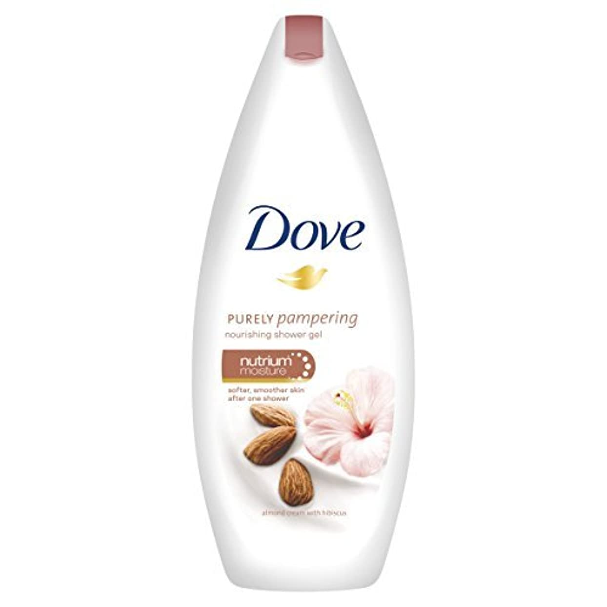 控えめな保有者打撃Dove Purely Pampering Almond Body Wash - 250 ml by Unilever