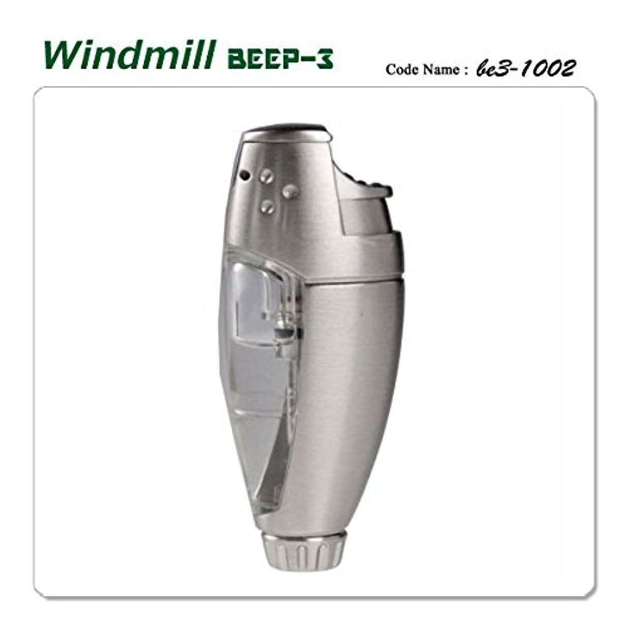 扇動する品揃え市の中心部Windmill ウインドミル 内燃式ターボライター ガスライター BEEP3 1002 ビープ3 クロムパール バーナーフレームライター