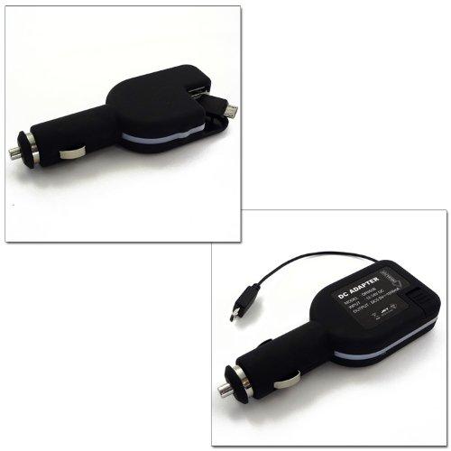 ホワイトナッツ AQUOS PHONE 102SH DC SPOOL スマホ 充電器 microUSB DCアダプター