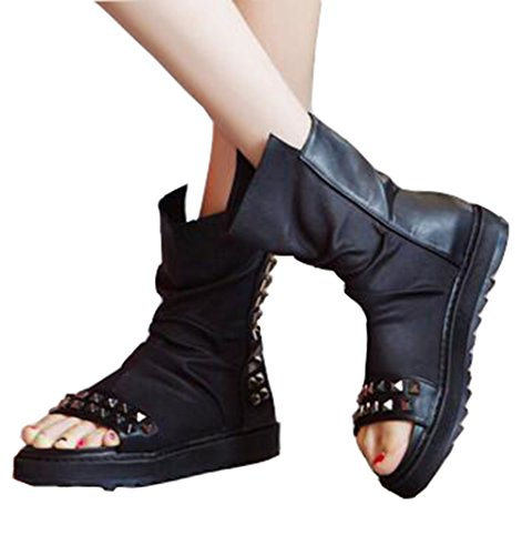 ブーツサンダル サマーブーツ 厚底 靴 レディース シューズ...