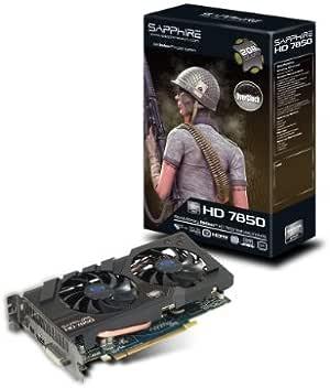 SAPPHIRE Radeon ビデオカード HD7850 2G GDDR5 PCI-E OC VERSION 日本正規代理店品 SAHD785-2GD5OCR001