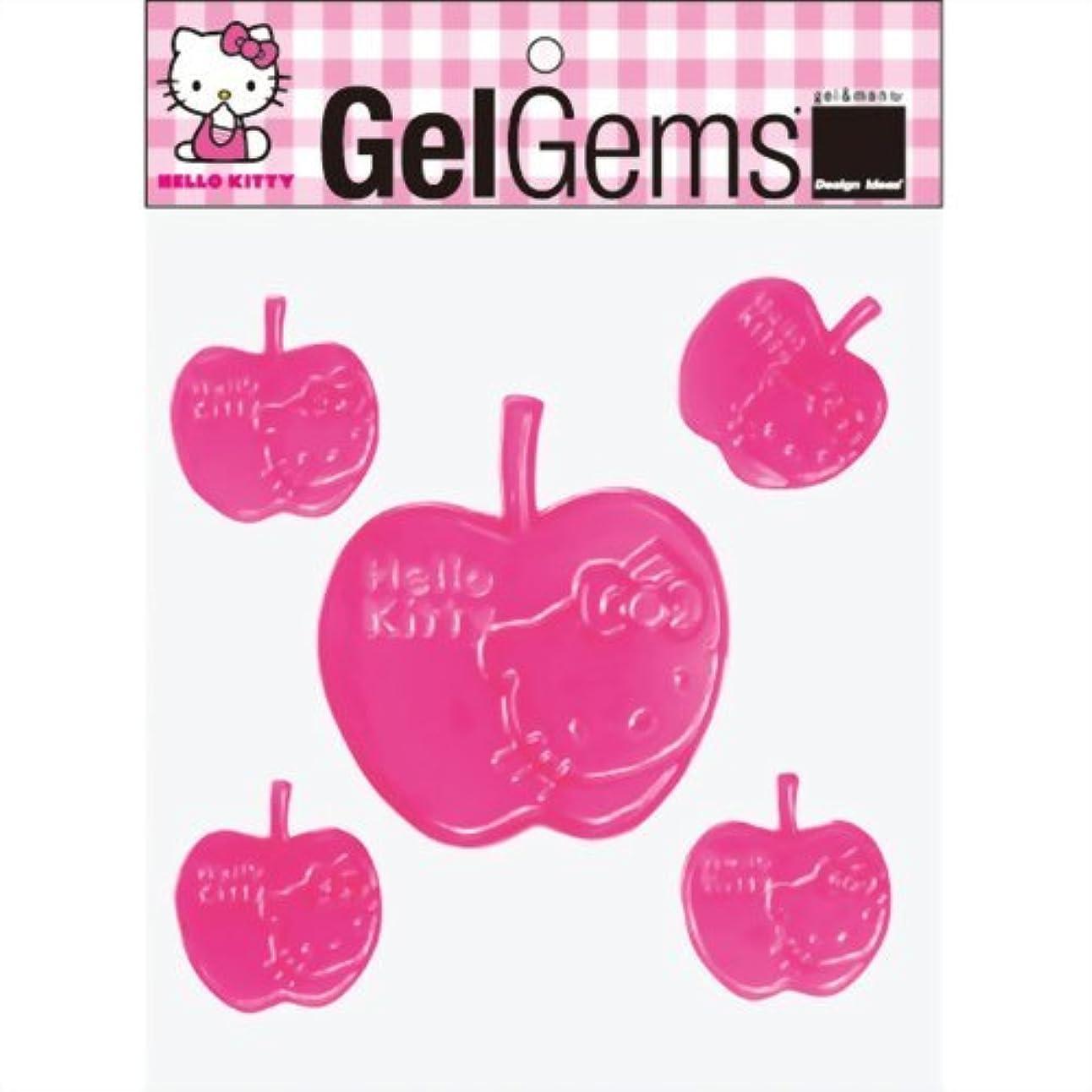 メキシコ鍔住むジェルジェムハローキティバッグS 「 ピンクリンゴ 」 E1200002