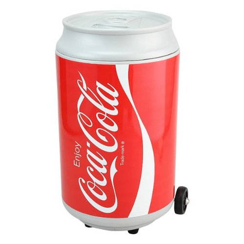 RoomClip商品情報 - Coca-Cola(コカ・コーラ) キャスター付き缶型クーラーボックス