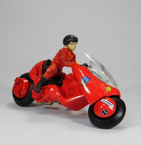 K&M AKIRA 色彩版 金田とバイク カプセル・ガシャポン
