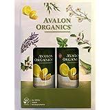 AVALON ORGANICS アバロンオーガニクス ハンド&ボディローション レモン 340g×2
