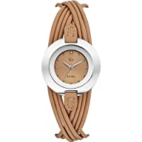 [女性用腕時計]Go Girl Only - 698122 - women's watch analogue quartz - beige dial - beige leather strap[並行輸入品]