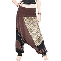 Modern Tribal Low Crotch Aladdin Harem Pants Soft Stretch Cotton