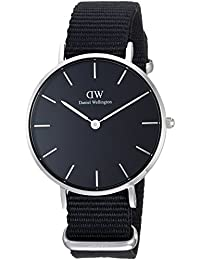 [ダニエルウェリントン]DANIEL WELLINGTON 腕時計 レディース クラッシック ペティット コーンウォール ブラック シルバー 32mm DW00100216 [正規輸入品]