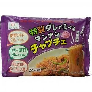 特製ダレで食べる マンナンチャプチェ 149.2g X5袋 セット (こんにゃく 希少糖使用) (ヘルシー ダイエット 健康食品)