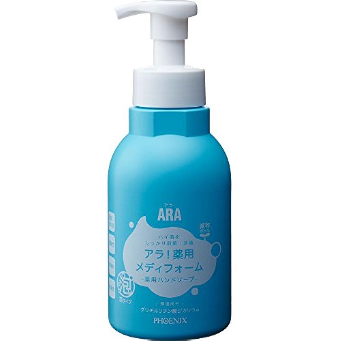 ワイプ浴ランデブーフェニックス ARA アラ! 泡ハンドソープ 薬用メディフォーム 500mL×15本入