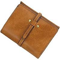 ヨーロピアンスタイルショート財布レザーハンドバッグMini pouch-coffee