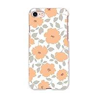 igcase iphone7 iphone アイフォーン 専用ハードケース スマホカバー カバー ケース pc ハードケース 010832 花 フラワー オレンジ