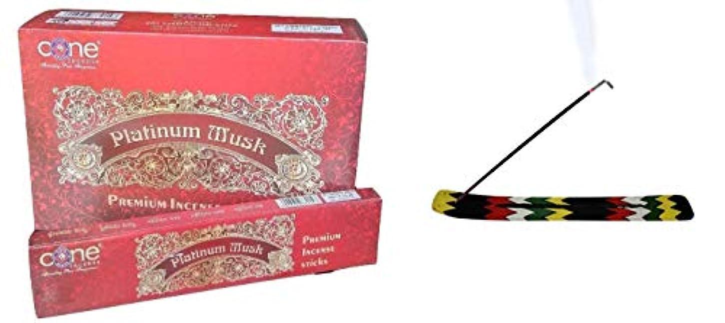 ディベートニックネームマートPlatinum Musk Incense Sticks (Pack of 12=144 Sticks)