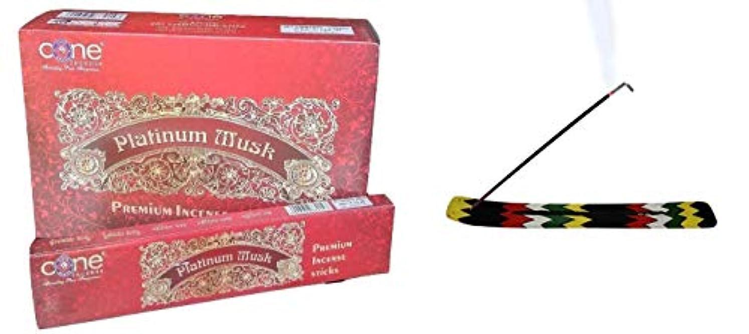 滞在通訳フリッパーPlatinum Musk Incense Sticks (Pack of 12=144 Sticks)