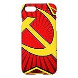 ヴィンテージCCCPのソ連国旗iPhone7ケース デザイン バック カバー ケース 簡単装着 衝撃吸収 アイフォン7 4.7 インチ おしゃれ