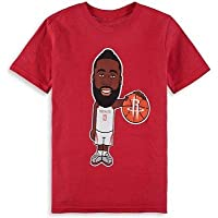 NBA James Harden Houston Rockets Youth Red Geeked Up T-Shirt Tシャツ(ファングッズ)【並行輸入品】