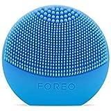 FOREO LUNA Play Plus アクアマリン シリコーン製 音波振動 電動洗顔ブラシ 電池式