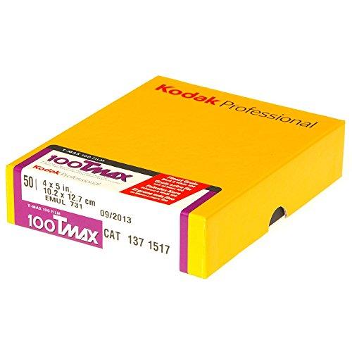 Kodak 白黒フィルム プロフェッショナル用 T-MAX100 4X5(50枚入り) 1371517
