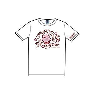 星のカービィ Congratulations Tシャツ マスコット付き ホワイト XS