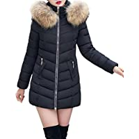 CHILLY LOOKATOOL Fashion Winter Women Jacket Long Thick Warm Slim Coat Overcoat