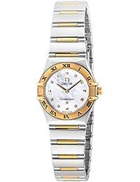 [オメガ]OMEGA 腕時計 コンステレーションマイチョイス ホワイトパール文字盤 1361.71 レディース 【並行輸入品】