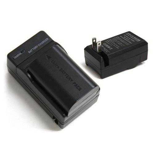 【コニカミノルタ】NP-800対応互換充電器 /BN-V607対応≪AC電源及びシガーライター両対応≫