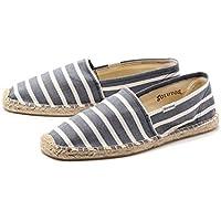 SOLUDOS(ソリュドス) Classic Stripe(クラシックストライプ) Light Navy White(ライトネイビー×ホワイト)[エスパドリーユ/エスカドリーユ][レディス]