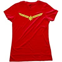 Marvel Comics Captain Star Juniors Red T-Shirt
