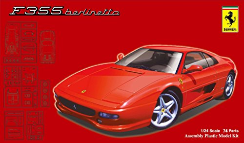フジミ模型 1/24 リアルスポーツカーシリーズNo.106 フェラーリ F355ベルリネッタ