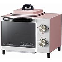 コイズミ オーブントースター 目玉焼き機能付き ピンク KOS-0703/P