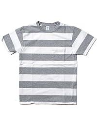 (ベルバシーン) Velva Sheen 161560W WIDE BORDER S/S C/N TEE W/PK ボーダーTシャツ