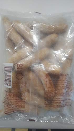 国内加工 粗挽きポークソーセージ 500g(個約20g) 冷凍 価格の割に美味しいです。