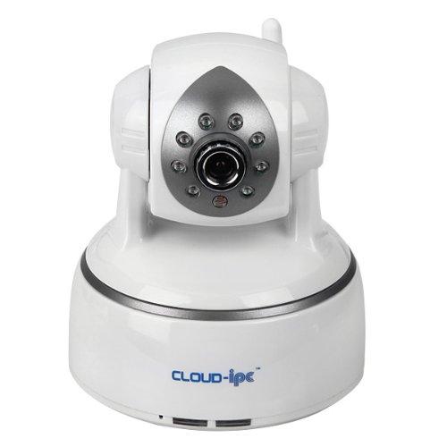 CLOUD-IPC MV2 IP カメラ ホワイト 暗視 無線LAN対応 遠隔操作が可能 ネットワークカメラ