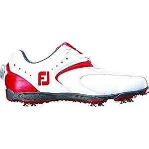 [フットジョイ] footjoy EXLBoa 45140J WT/RD (ホワイト/レッド2016モデル/8.5 WIDE)