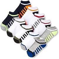 The Children's Place boys 2118036 10 Pack Novelty Printed Ankle Sock Set Socks - multi