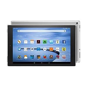 Fire HD 10 タブレット 16GB、シルバー(第5世代)