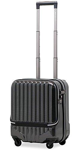 スーツケース 機内持込 軽量 フロントオ...