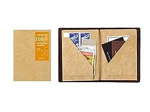 トラベラーズノート パスポートサイズ リフィル クラフトファイル 14334-006