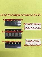 15set(105pcs)for iPhone 6 6plus Backlight Kit IC U1502 + coil L1503 + diode D1501 + Capacitor C1530 c1531 C1505 filter FL2024-25 26