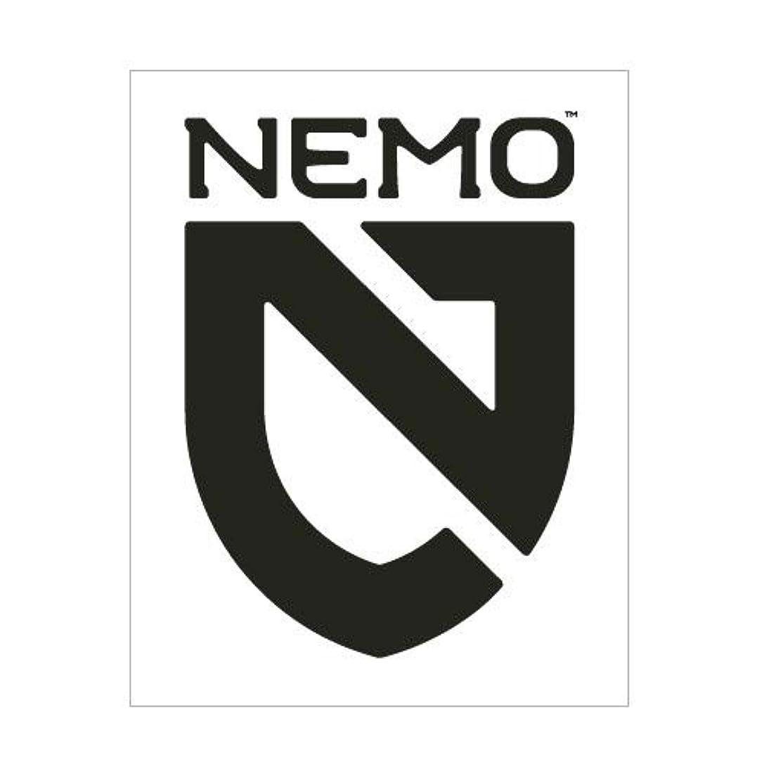 グリル日付付き排泄するNEMO(ニーモ) シールドステッカーセット BK 転写タイプ
