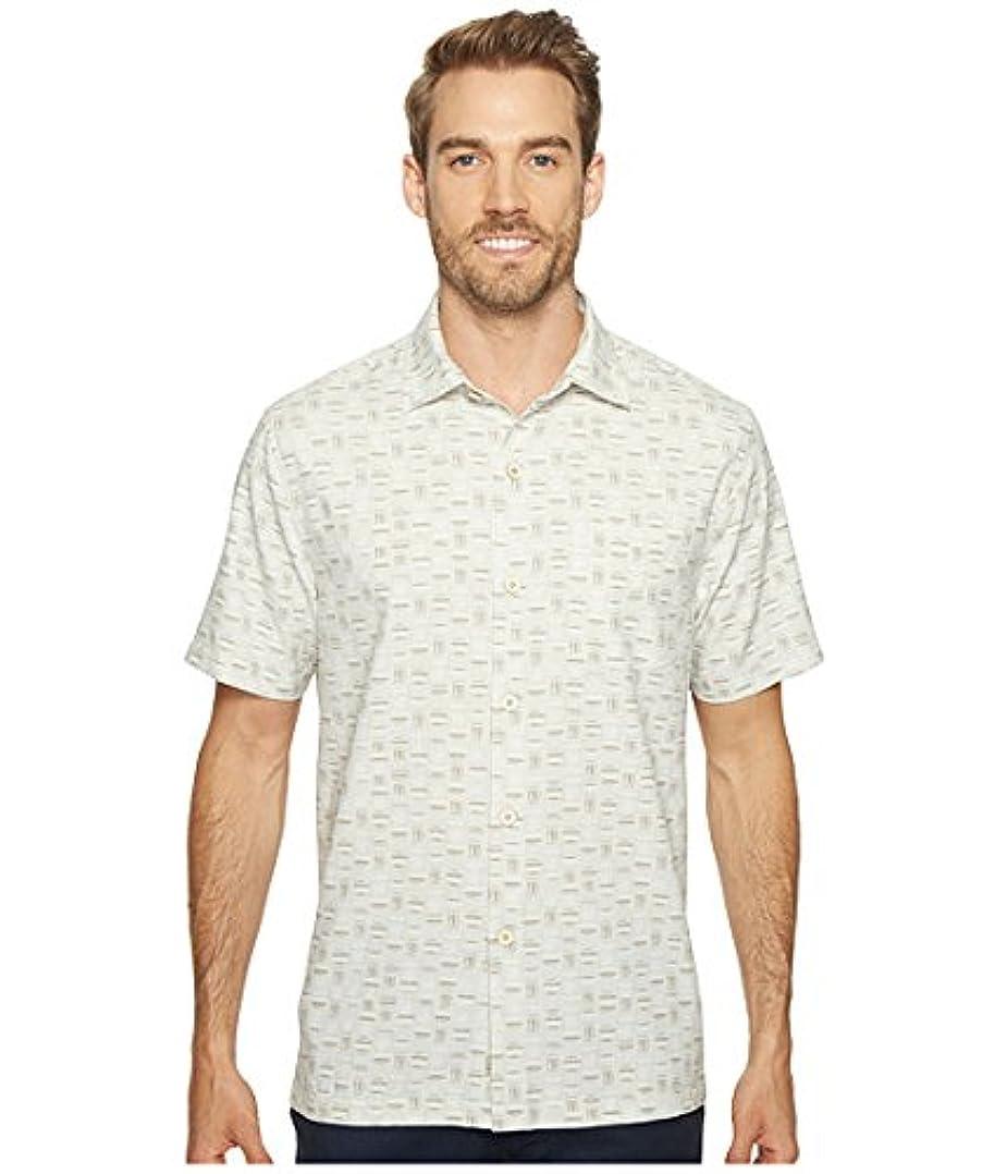 研究所アクセシブル四回(トミーバハマ)Tommy Bahama メンズシャツ?ワイシャツ Geo Chaser IslandZoneR Camp Shirt Twill XL XL [並行輸入品]