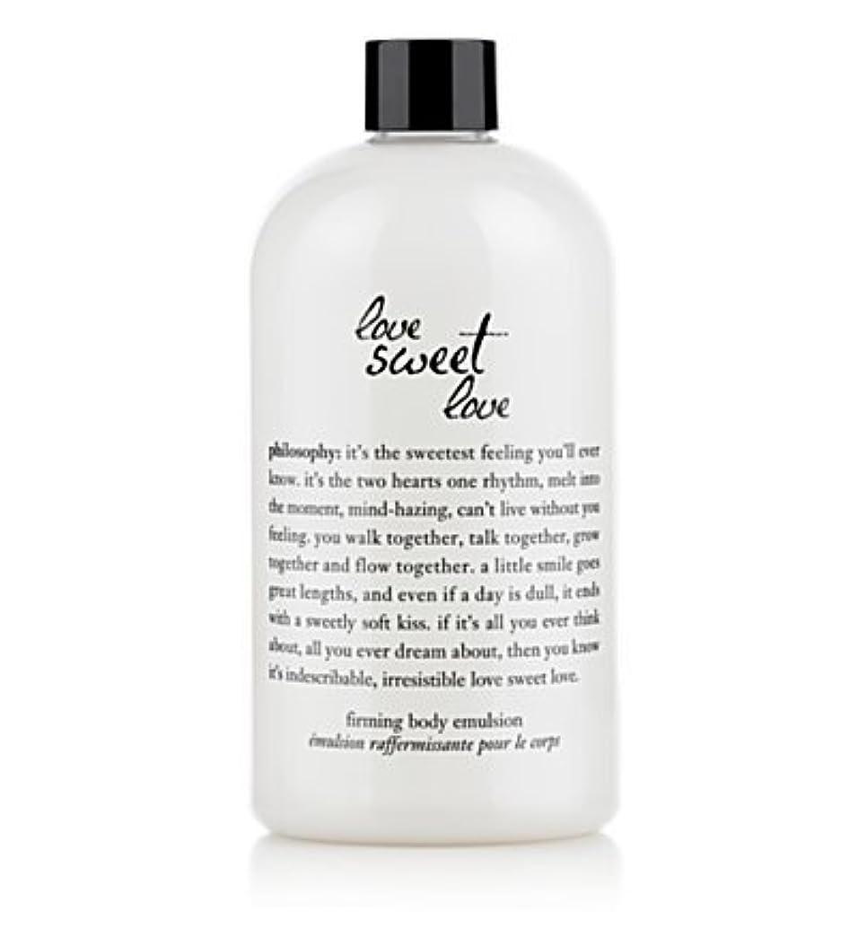 気になる基本的なマークlove sweet love (ラブスイートラブ ) 16.0 oz (480ml) firming body emulsion for Women