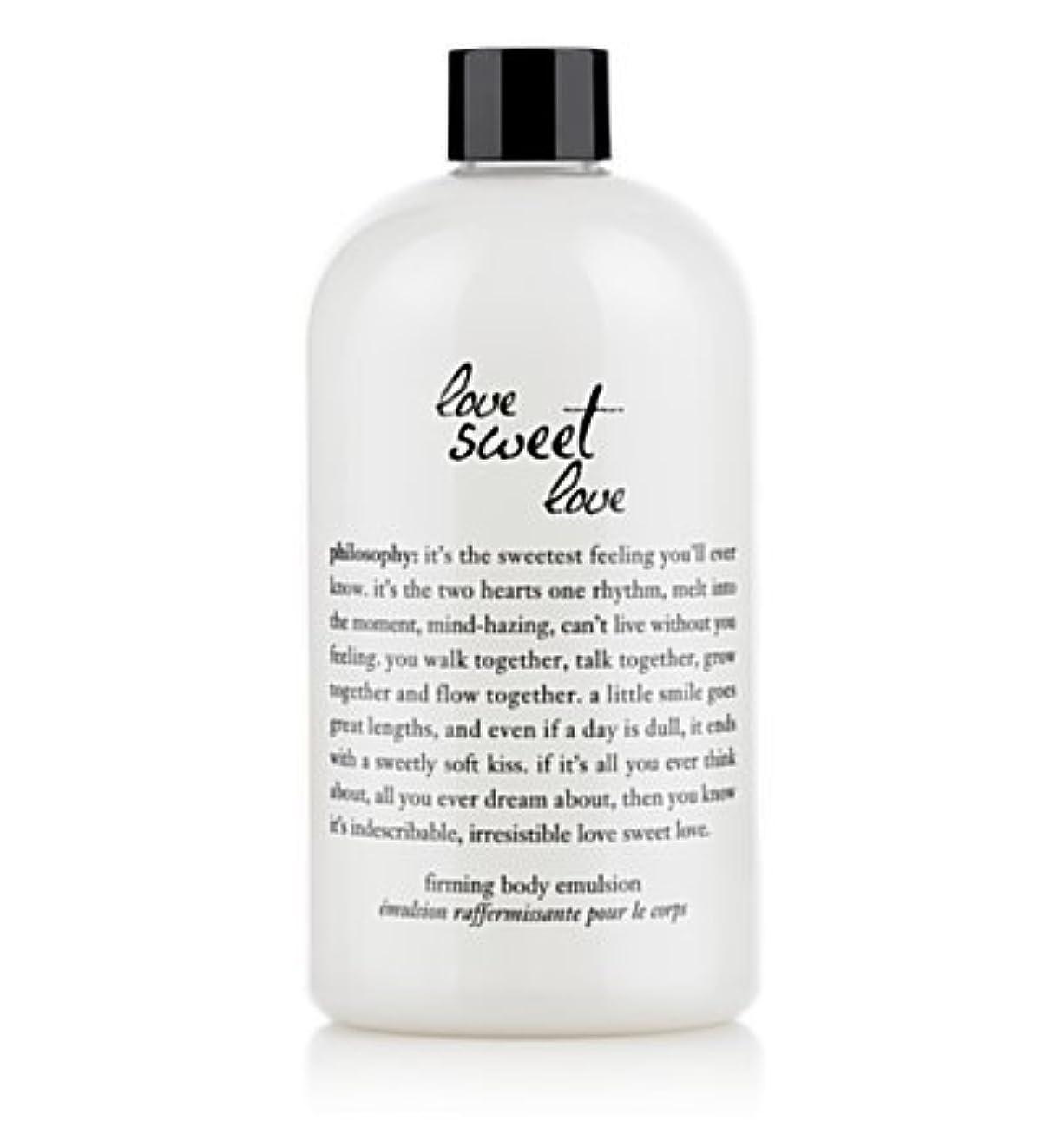 おびえた確立します悲劇的なlove sweet love (ラブスイートラブ ) 16.0 oz (480ml) firming body emulsion for Women
